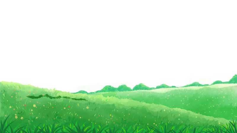 春天里绿色大地青绿色的草地乡村风景图9997512png图片免抠素材
