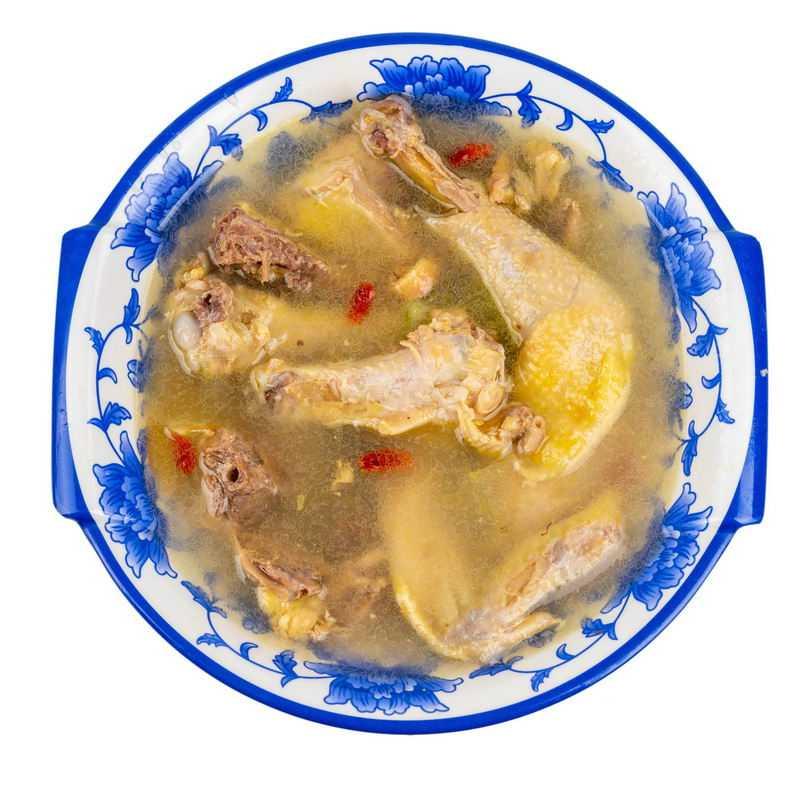 一大碗土鸡汤药膳鸡汤美味美食4263277png图片免抠素材
