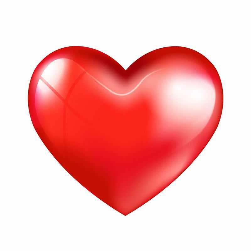 3D立体风格红心红色心形图案7172435图片免抠素材