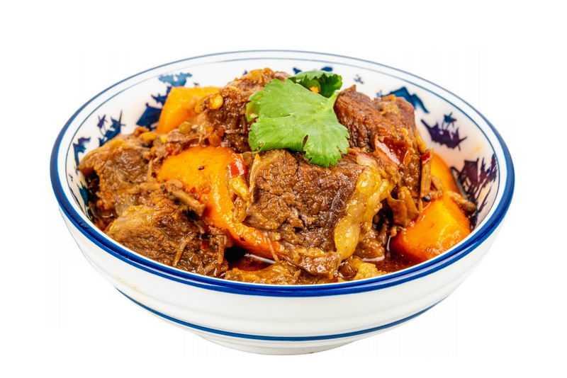 一碗胡萝卜炖牛肉红烧牛肉酱牛肉美味美食2208303png图片免抠素材