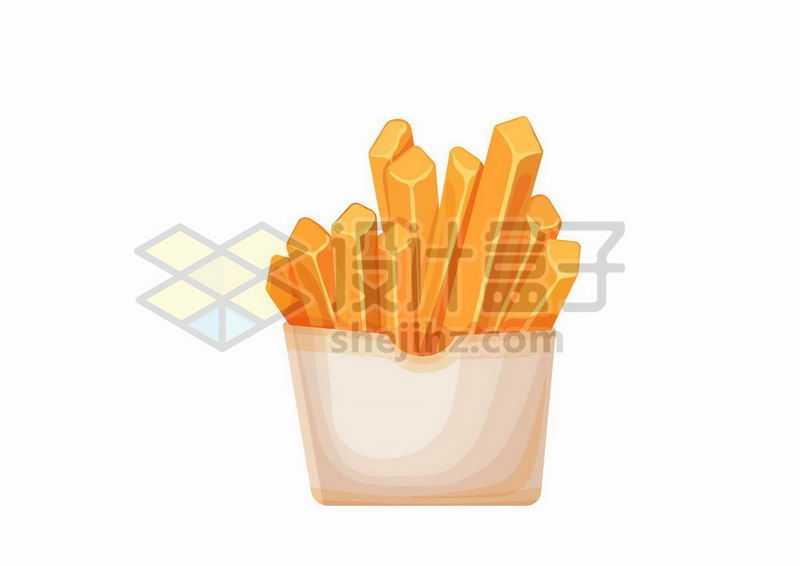 一包薯条美味西餐快餐2524016矢量图片免抠素材