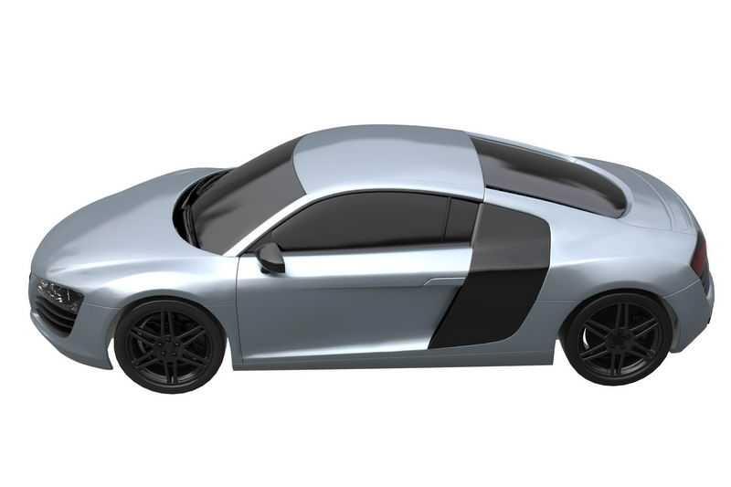 奥迪R8 Coupe超级跑车模型9689539png图片免抠素材