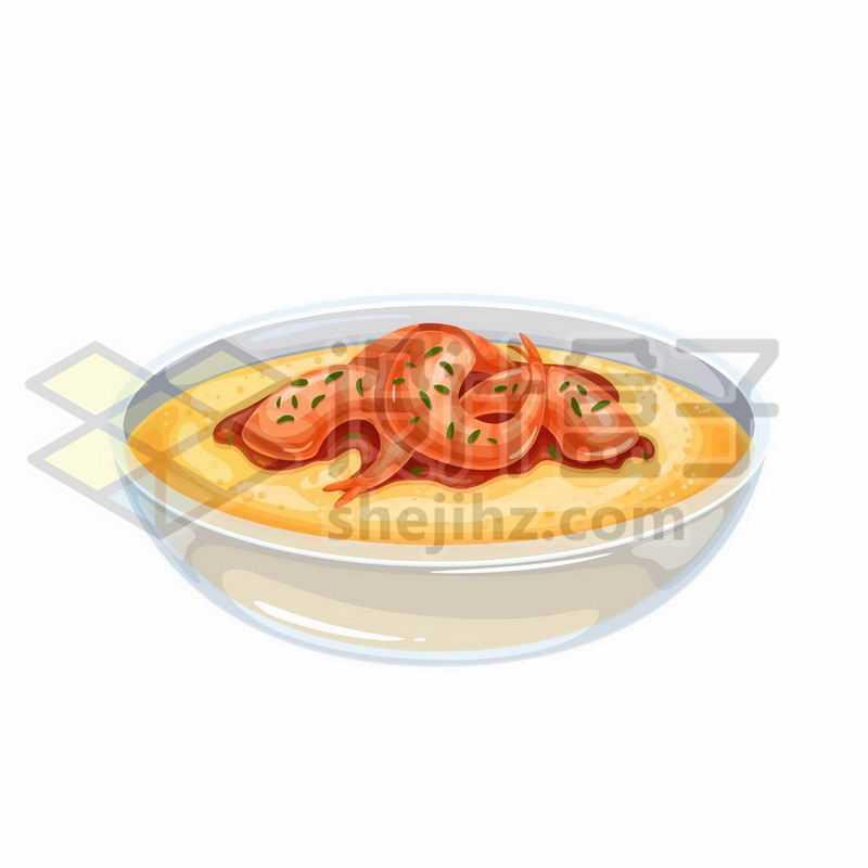 一碗鲜虾汤美味美食5074773矢量图片免抠素材