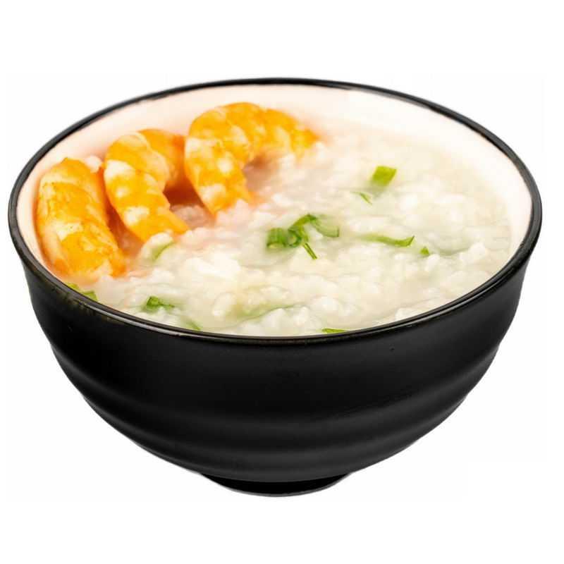 一大碗大虾鲜虾米粥白粥美味美食9279482png图片免抠素材