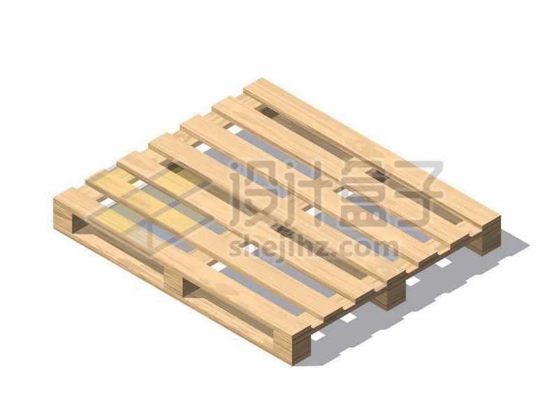 木头制作的木制托盘1674892矢量图片免抠素材
