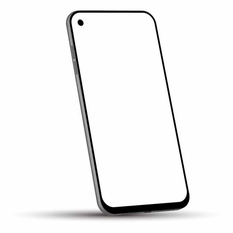 全面屏挖孔屏手机屏幕显示样机6025289图片免抠素材