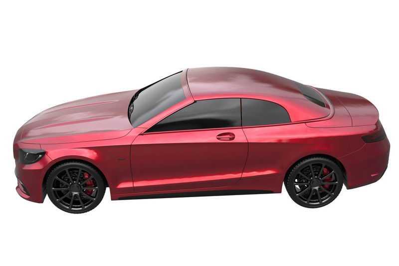 一辆红色的超级跑车模型侧视图4693894png图片免抠素材