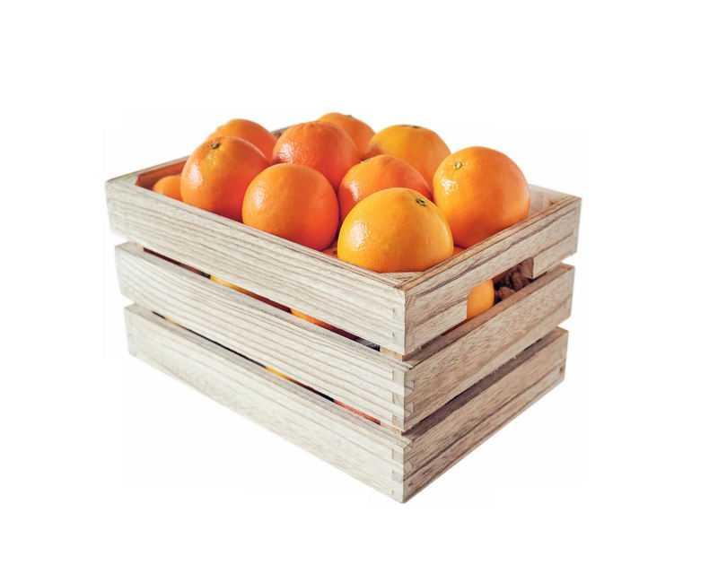 木框中的橙子橘子脐橙美味水果6601887免抠图片素材