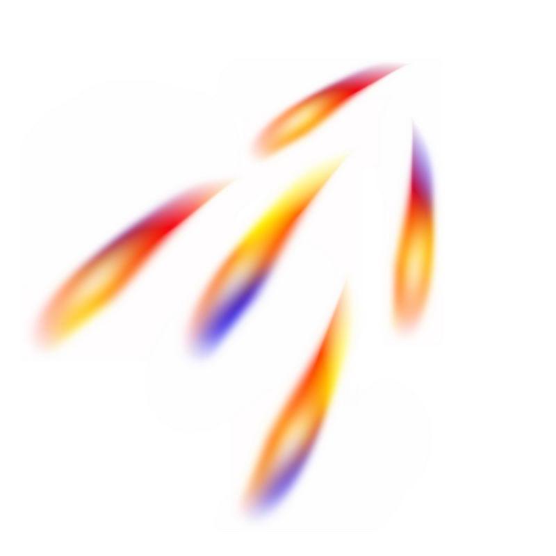 快速移动的光束光点光斑效果1420948图片素材 效果元素-第1张