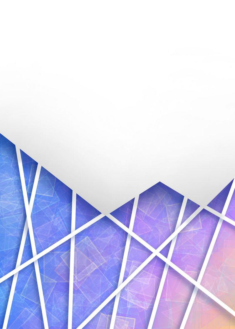多边形彩色破裂玻璃效果背景图9980046图片素材 背景-第1张