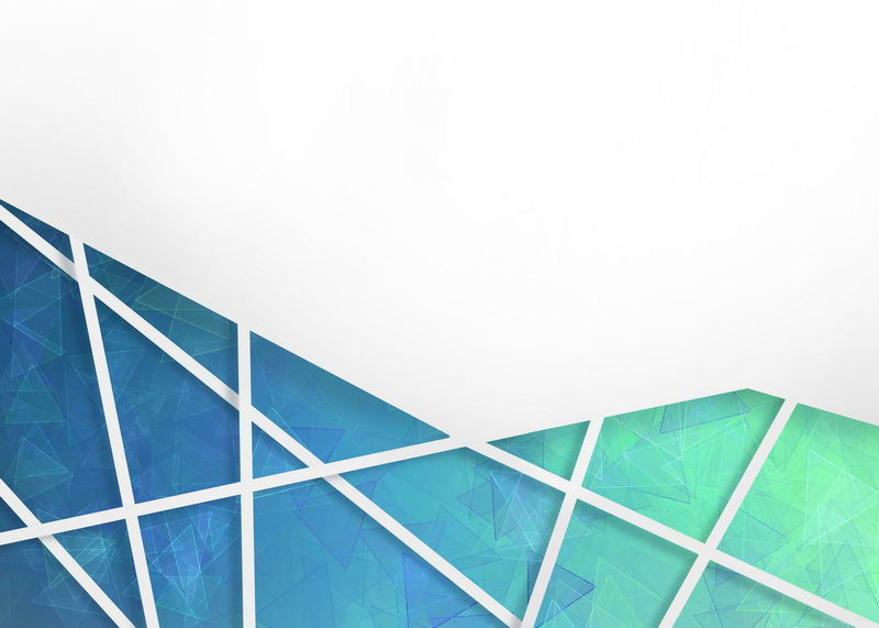 多边形蓝色绿色破裂玻璃效果背景图8985436图片素材 背景-第1张