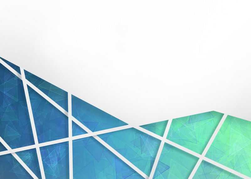 多边形蓝色绿色破裂玻璃效果背景图8985436图片素材