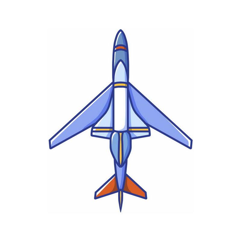 卡通驮着航天飞机的大型飞机5647032免抠图片素材 军事科幻-第1张