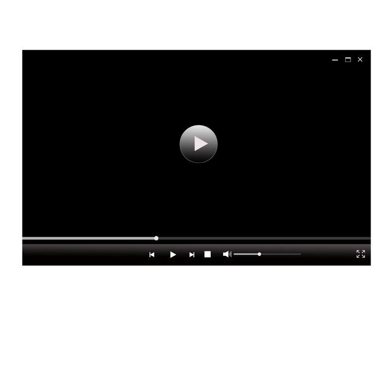 黑色电脑视频播放器界面设计9688569图片素材 UI-第1张
