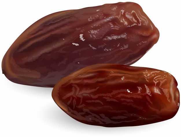 两颗蜜枣美味干果零食8104454矢量图片免抠素材