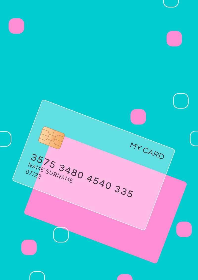一张毛玻璃半透明效果银行卡和圆角正方形装饰1844331免抠图片素材