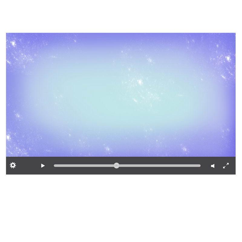 深灰色电脑视频播放器界面设计1821027图片素材 UI-第1张