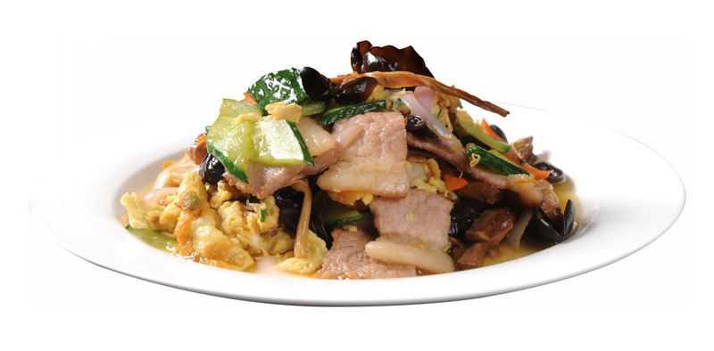 一盘黄瓜炒肉片美味家常菜美食4315339png图片免抠素材
