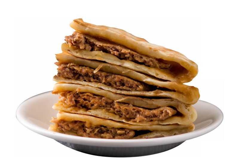 一盘肉夹馍美味烧饼小吃美食8002454png图片免抠素材