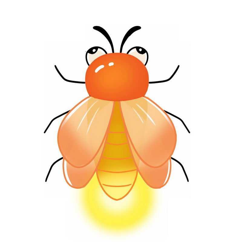 可爱的卡通萤火虫8230045png图片免抠素材