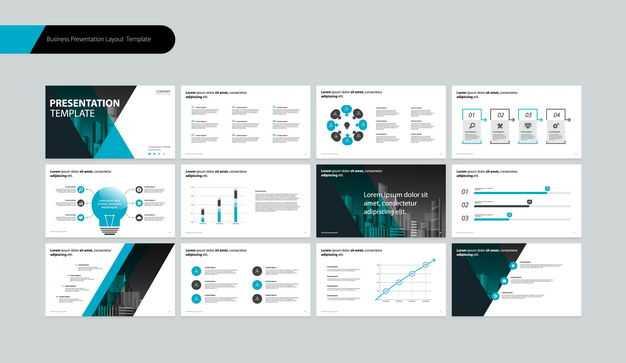 蓝色商务风格PPT模板2552579矢量图片免抠素材