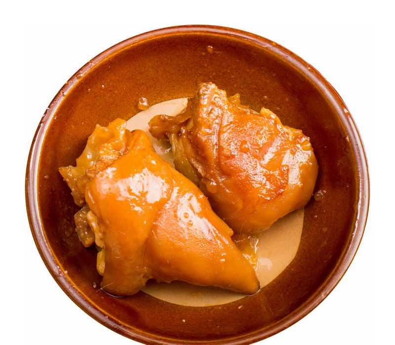 一盘酱猪蹄卤猪脚猪手家常菜美味美食9054853png图片免抠素材