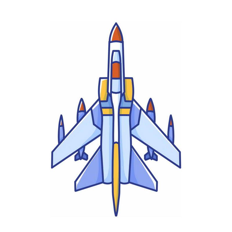 卡通轰炸机战斗机2288836免抠图片素材 军事科幻-第1张