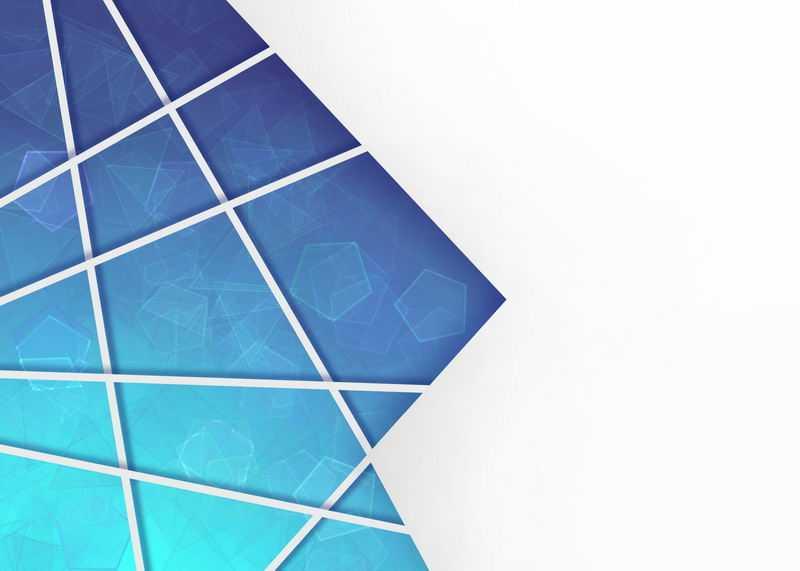 多边形蓝色破裂玻璃效果背景图5185457图片素材