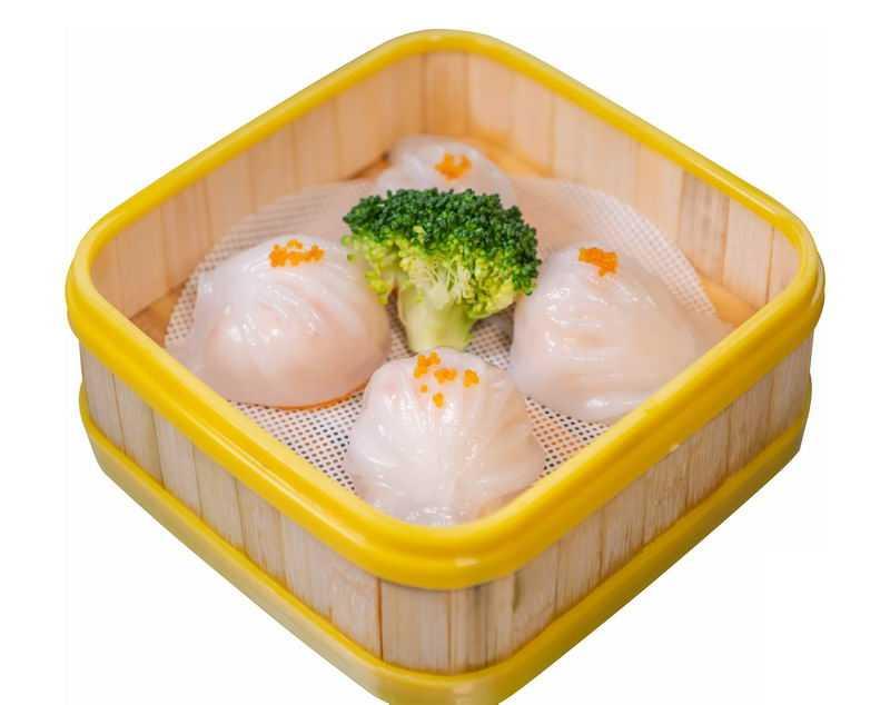蒸笼里的水晶汤包美味广式早茶美食2617780png图片免抠素材