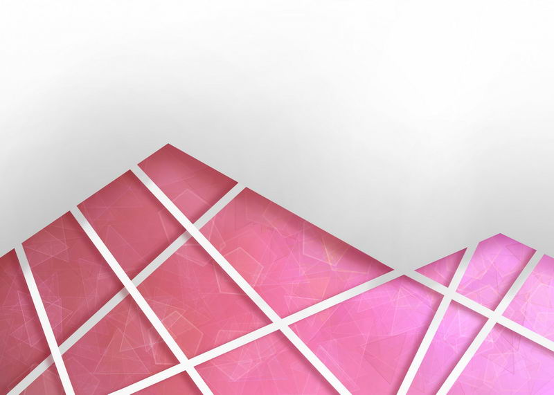 多边形红色破裂玻璃效果背景图7630527图片素材 背景-第1张