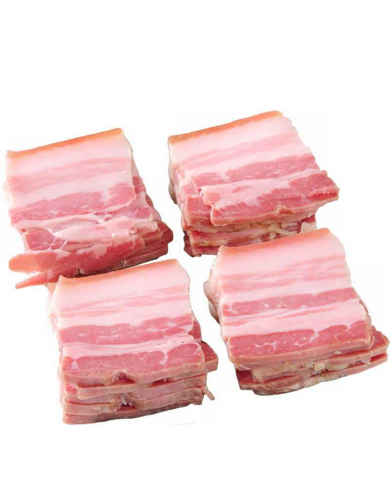 切片的五花肉腌肉咸肉美味食材3062790png图片免抠素材