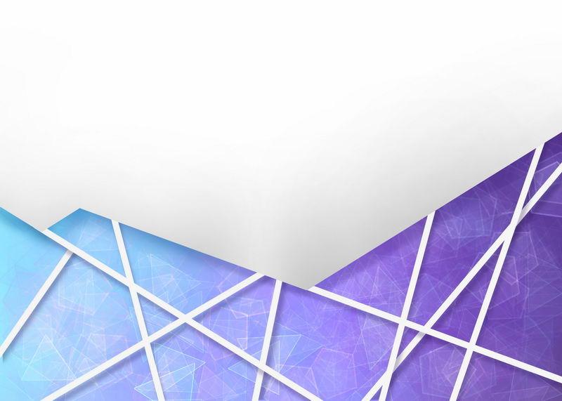 多边形蓝色紫色破裂玻璃效果背景图2811944图片素材 背景-第1张