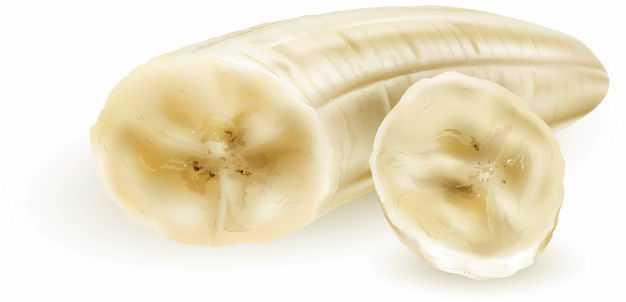 剥皮的香蕉美味水果6548516矢量图片免抠素材
