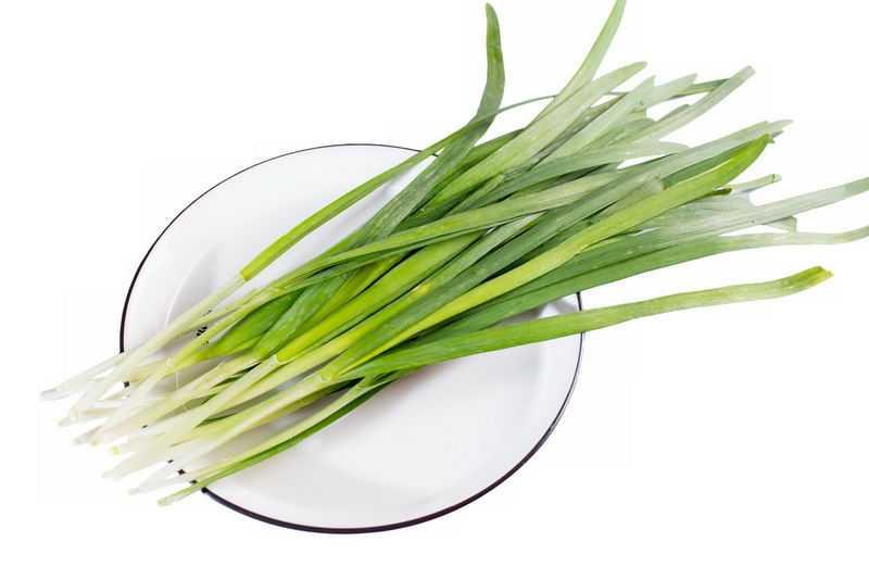 盘子中的韭菜美味蔬菜9687158png图片免抠素材