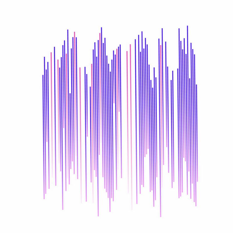 紫色科技风格放射线科幻线条4270891矢量图片免抠素材 线条形状-第1张