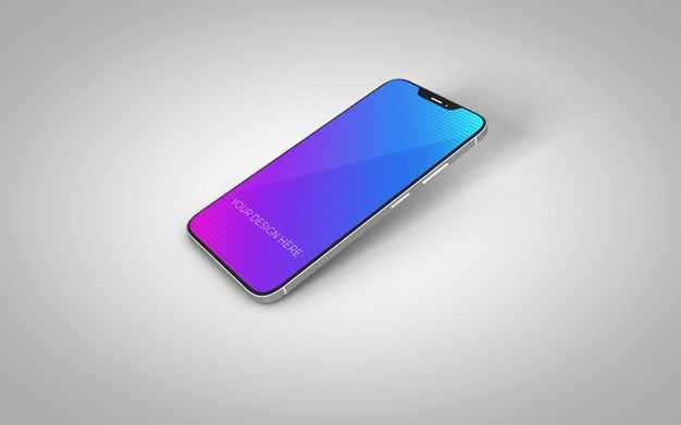 一支iphone12手机屏幕显示样机8122679图片素材