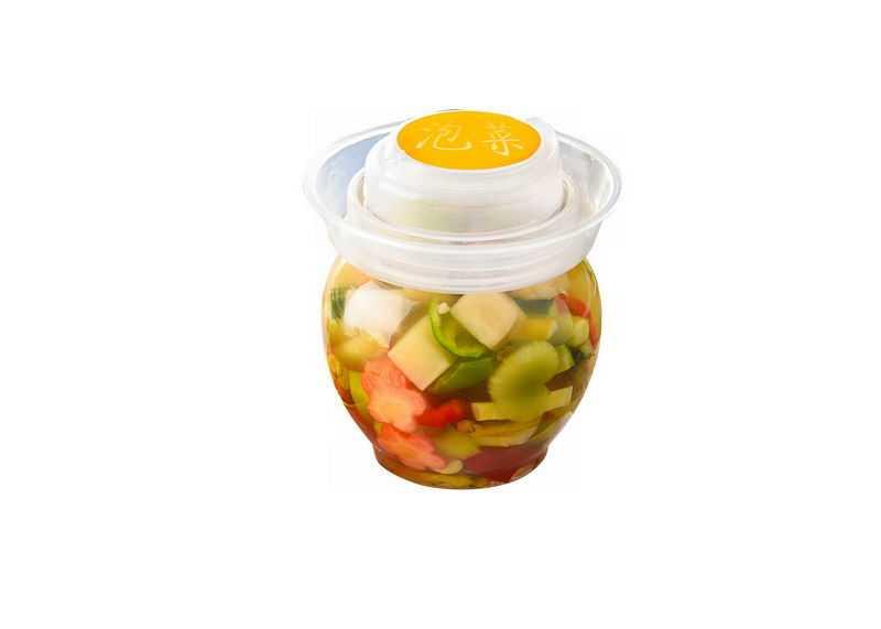 玻璃罐子中的泡菜美味腌菜美食5521799png免抠图片素材