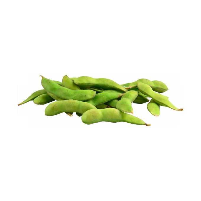 一小堆毛豆菜用大豆黄豆青豆美味蔬菜4284423png免抠图片素材
