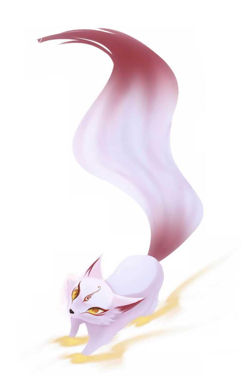 可爱的狐狸精狐妖妖精妖怪7987574免抠图片素材