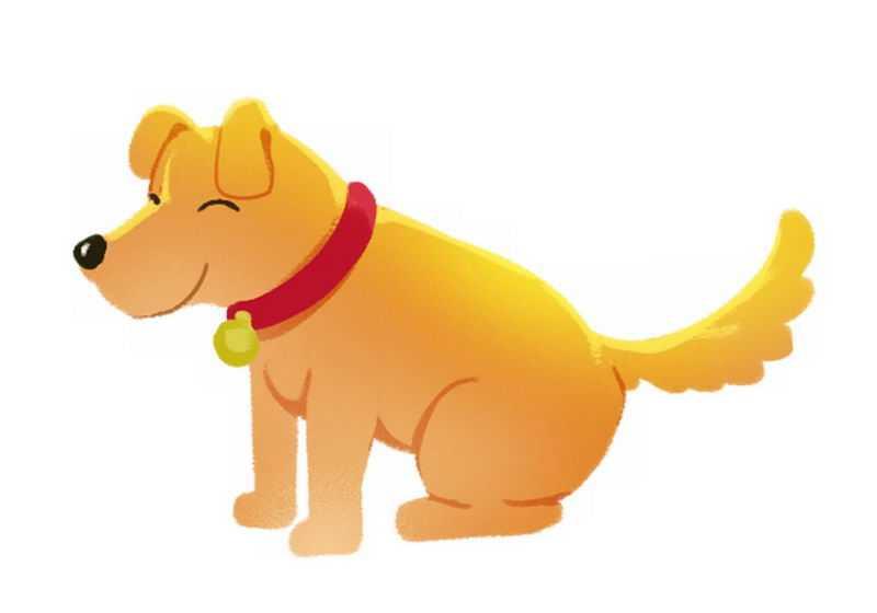 可爱的卡通小狗宠物狗狗9588850png免抠图片素材