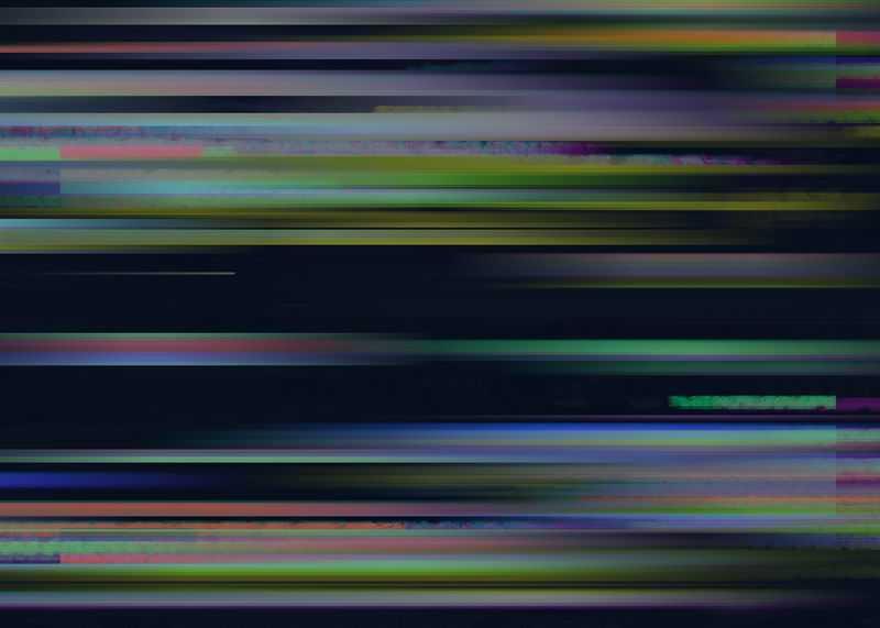 彩色条纹电脑屏幕故障风背景图1487344图片素材
