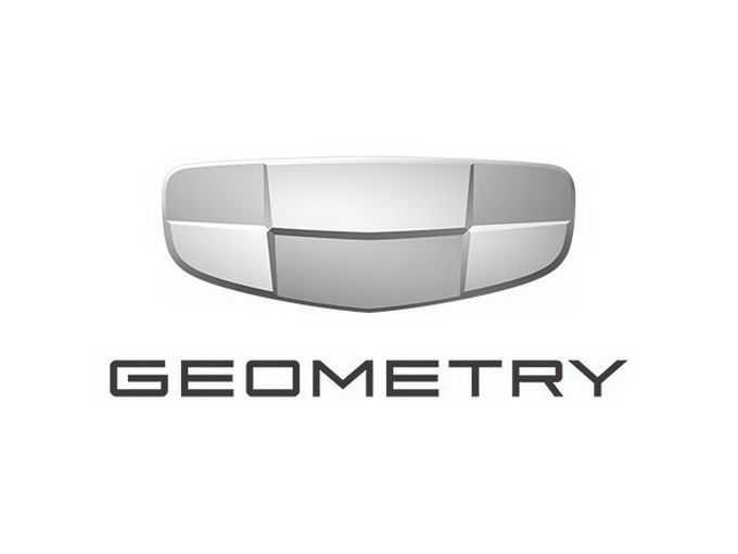 高清吉利汽车新能源子品牌几何汽车标志logo png免抠图片素材