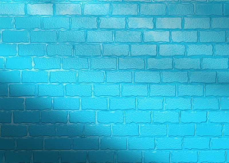 蓝色砖墙背景图1913568图片素材
