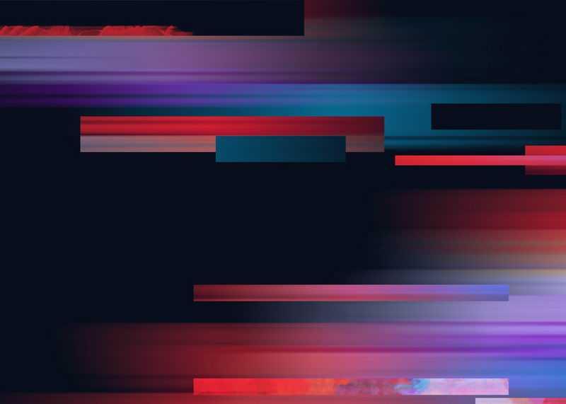 彩色条纹电脑屏幕故障风背景图8148603图片素材