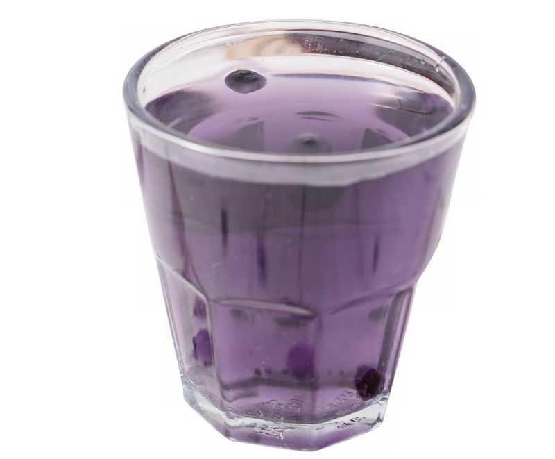 一杯玻璃杯中的黑枸杞养生美食饮品6655430png免抠图片素材