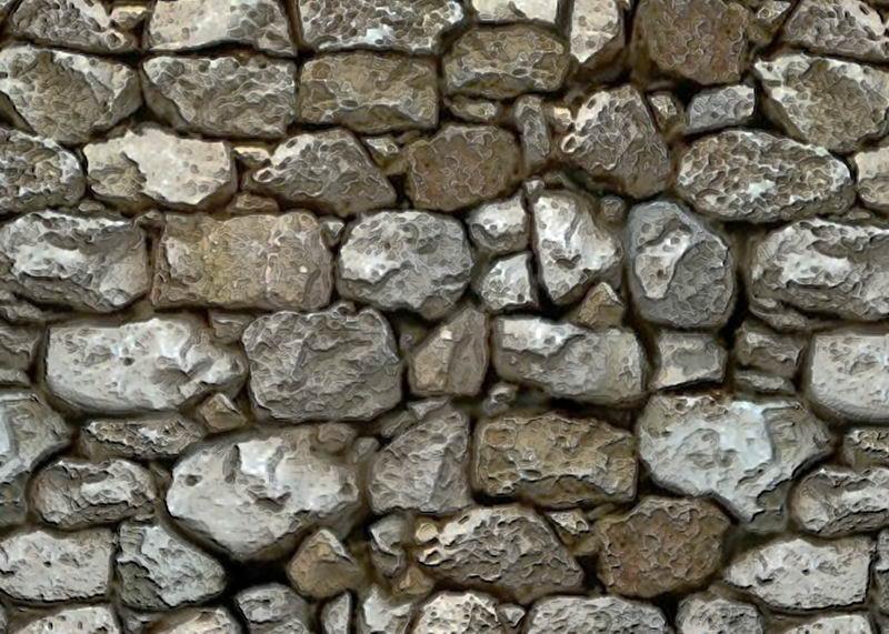 砾石石块墙壁背景图2415008图片素材 材质纹理贴图-第1张
