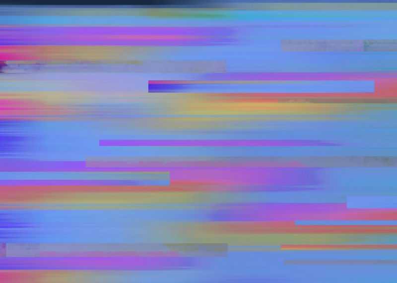 彩色条纹电脑屏幕故障风背景图6973520图片素材