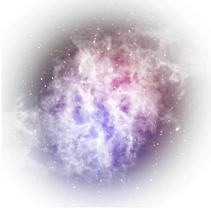 绚丽的紫红色星云装饰1864639矢量图片免抠素材
