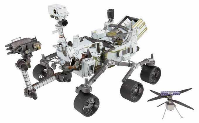 毅力号火星车美国火星探测车5500481png免抠图片素材