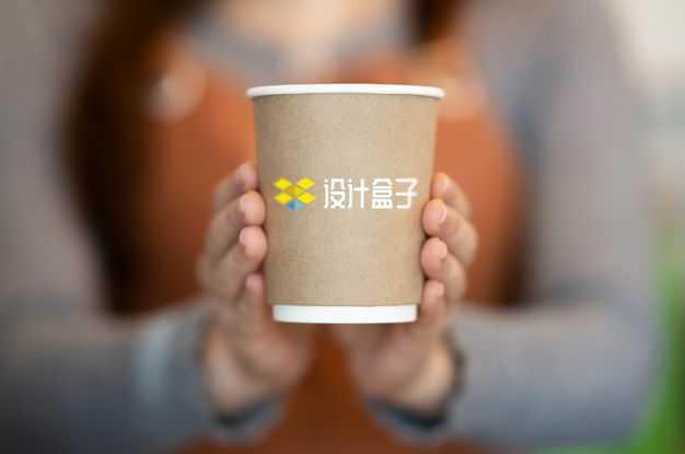 双手捧着的一次性咖啡杯样机3176694图片素材